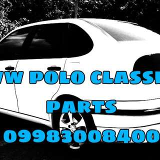 Vw polo classic and daewoo espero parts