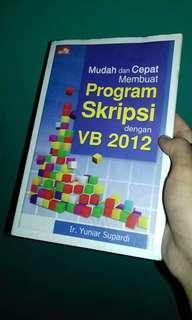 Mudah & Cepat Membuat Program Skripsi dng VB 2012