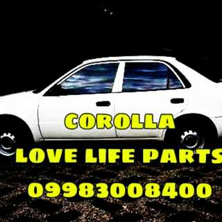Corolla and kia cd5 parts