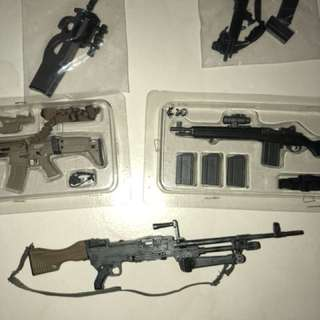 1/6 Guns ~ $20 each