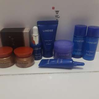 Laneige Perfect Renew Travel Kit And Sulwhasoo Travel Kit