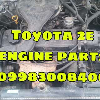 L300 PAJERO 4D56 ENGINE AND COROLLA 2E ENGINE PARTS