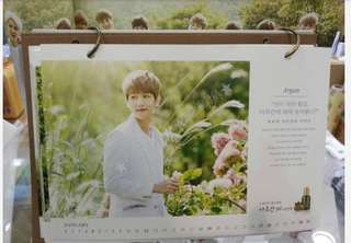 exo nature republic官方月曆