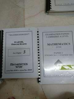 CAL Mathematics Paper 3