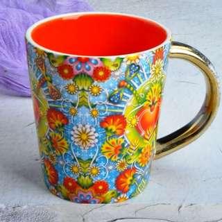 Beautiful Hallmark Coffee Mug-Red