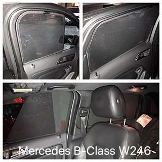 Selling used 6 pieces Laser Shades for Mercedes B Class W246