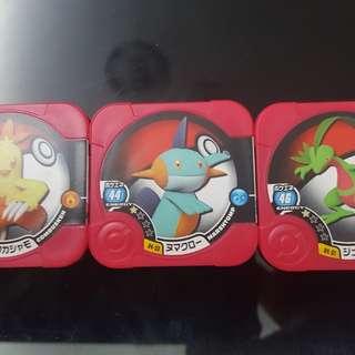 Pokémon Tretta hoenn starter evolution set