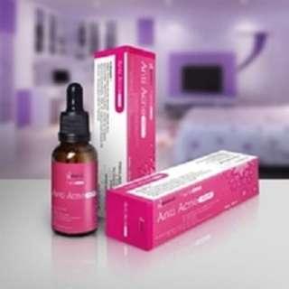 Serum anti acne ( jerawat ) merk hanasui