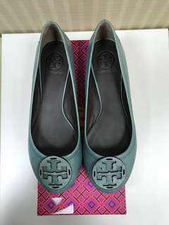 Tory Burch baby blue flats size 38 - REPRICE