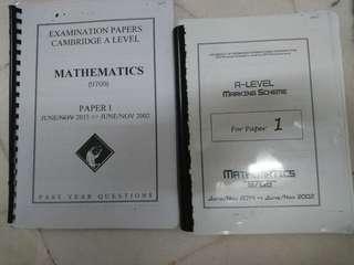 CAL Mathematics Paper 1