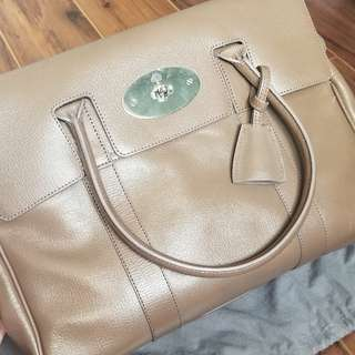 New Authentic Mulberry Bayswater in Shiny Goat Leather