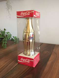1994 Coca Cola Phoenix Suns Gold Plated Bottle