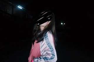 H&M silk bomber jacket