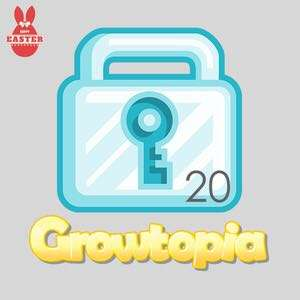 Growtopia Diamond Locks $6 sell 20 only $120