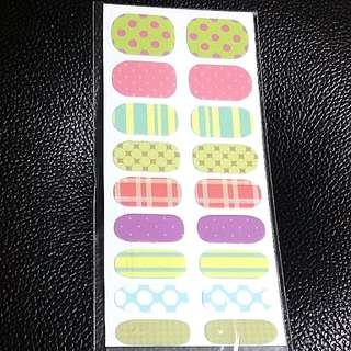 Assorted Nail Stickers Nail Wrap Nail Foil