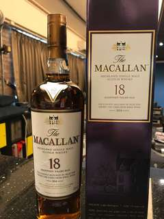 Macallan sherry 18yr 2016 700ml