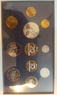 全新1993法國紀念幣