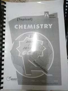 GCE A Level Topical Chemistry