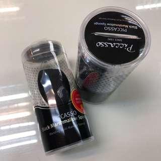 韓國PICCASSO 黑色活性炭 美妝蛋 彩妝蛋 海綿粉撲