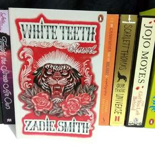 White Teeth by Zadie Smith Imported English Book Novel
