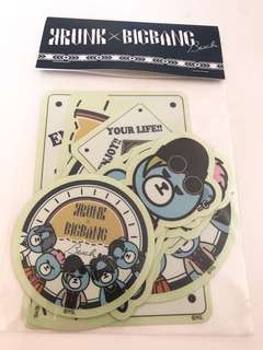 Bigbang x Krunk Beach Sticker