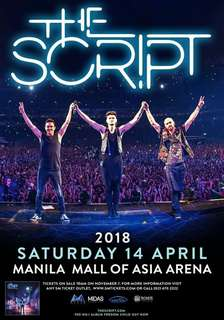 Looking for: The Script ticket concert