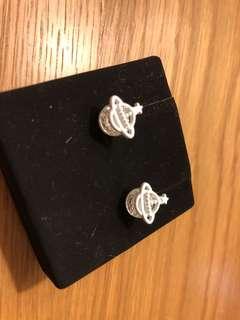 Vivien Westwood style earrings