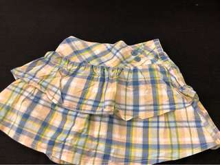 Oshkosh skirt with shorts