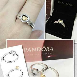 Pandora 2in1 rings