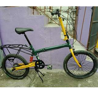 TAKAICYCLE FOLDING BIKE (FREE DELIVERY AND NEGOTIABLE!)