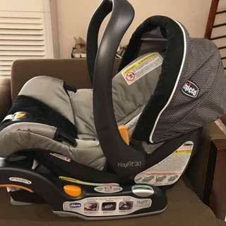 Chicco KeyFit30 Infant Car Seat *USED TWICE ONLY*