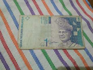 Uang ringgit malaysia
