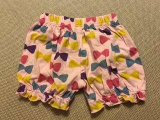 女童 短褲 西松