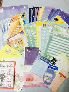 [Charity Sale] Assorted letter paper & envelope