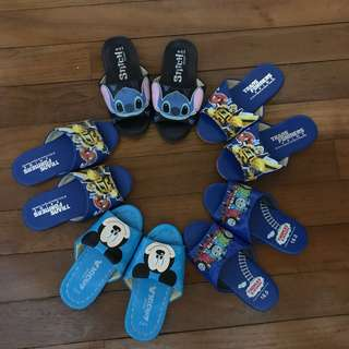 Bedroom slippers for kids (From Taiwan)