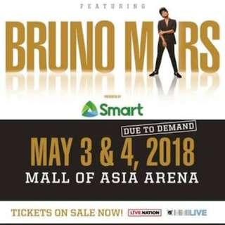 Bruno Mars Concert Tickets