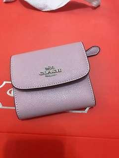 Coach women short wallet purse pouch coin bag