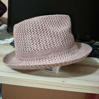 🚚 全新  粉色 紳士帽