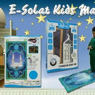 E-Sejadah/Solat Kids Mat  Rm98 Inc pos semenanjung