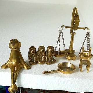 Assorted Miniature Brass Collections