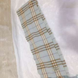 burberry scarf baby blue