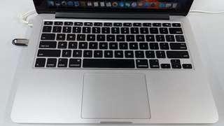 90%new 2014 macbook pro 13 512gb ssd
