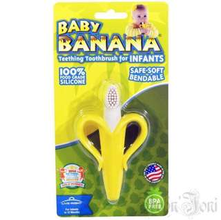 Baby Banana Infant Toothbrush Teether
