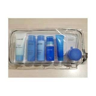 READY STOCK Laneige Moisture Care Travel Kit ( 6 ITEMS ) ORIGINAL