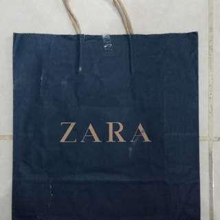Paperbag - Paper Bag - Tas Karton Branded Zara Medium
