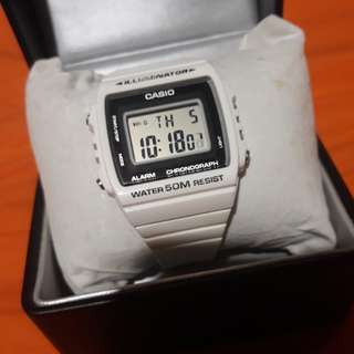 Casio Preloved watch authentic