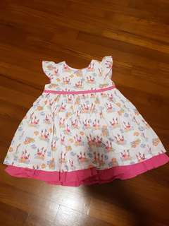 Pumpkin Patch Baby Girl Dress 6 to 12 months