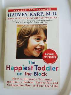 The happiest toddler in the block