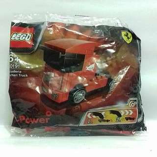Lego Shell Scuderia Ferrari Truck Collectible Toy