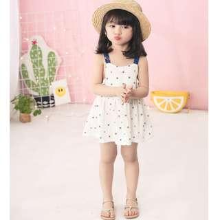 White Strap Dress